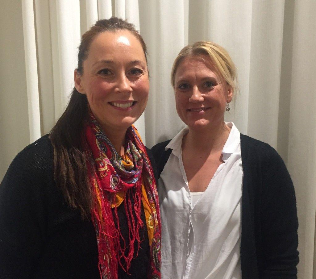 Mia Skaug och Jenny Svärdendahl