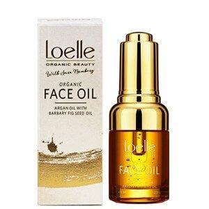 loelle sara nomberg face oil argan oil barbary fig oil kaktusfikon olja arganolja