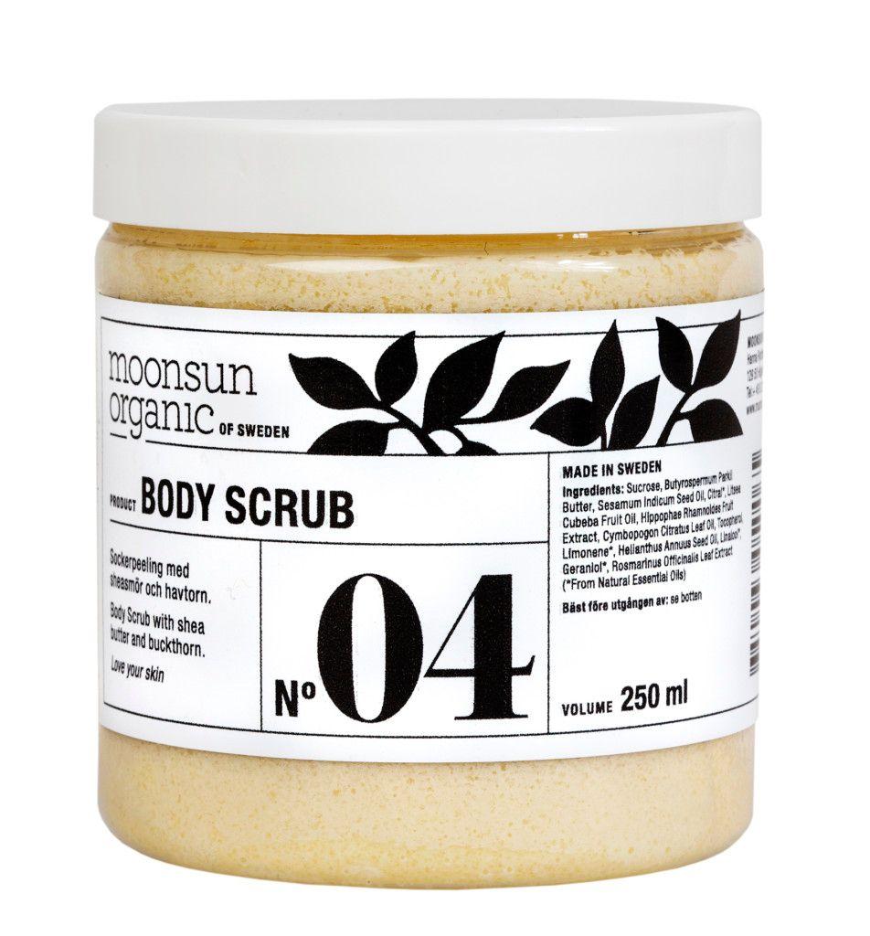 Moosun Organic Body Scrub