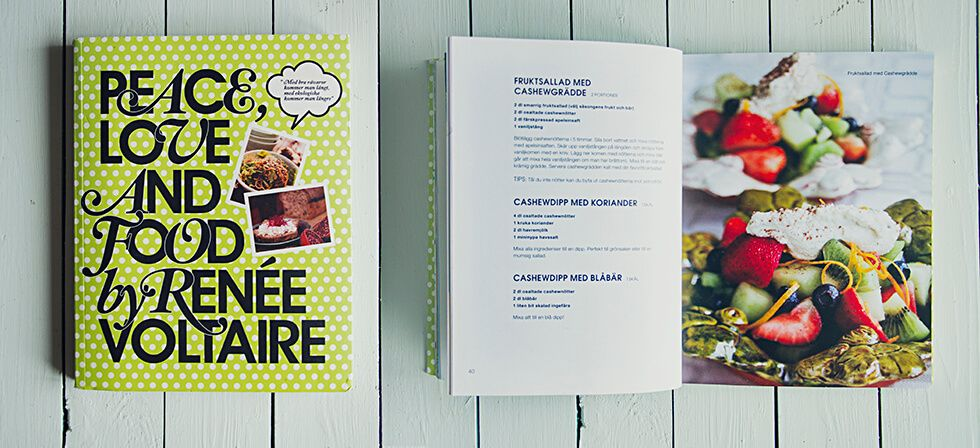 Peace love and food - Renée Voltaire, recension