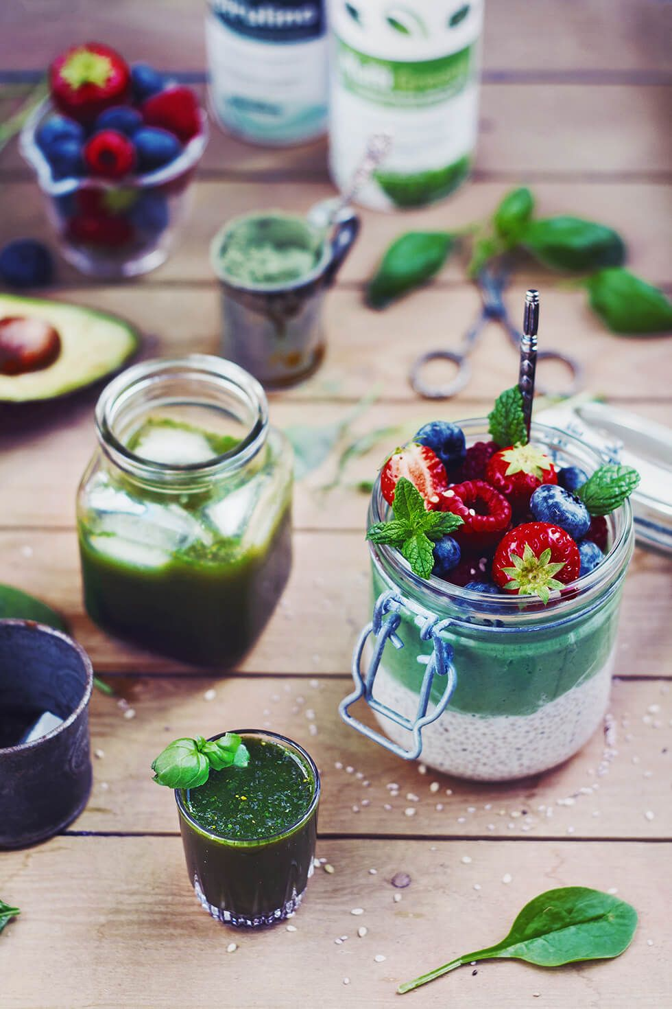 Hälsotips - Spirulina och Multi Greens