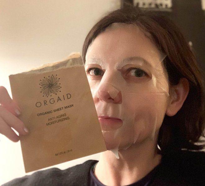 orgaid sheetmask