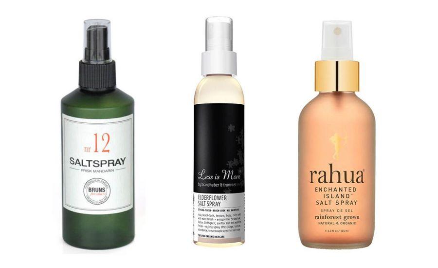 ekologisk salt spray hår