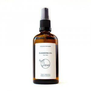 rengöringsolja fet hud cleansing oil tee tree- organics by sara