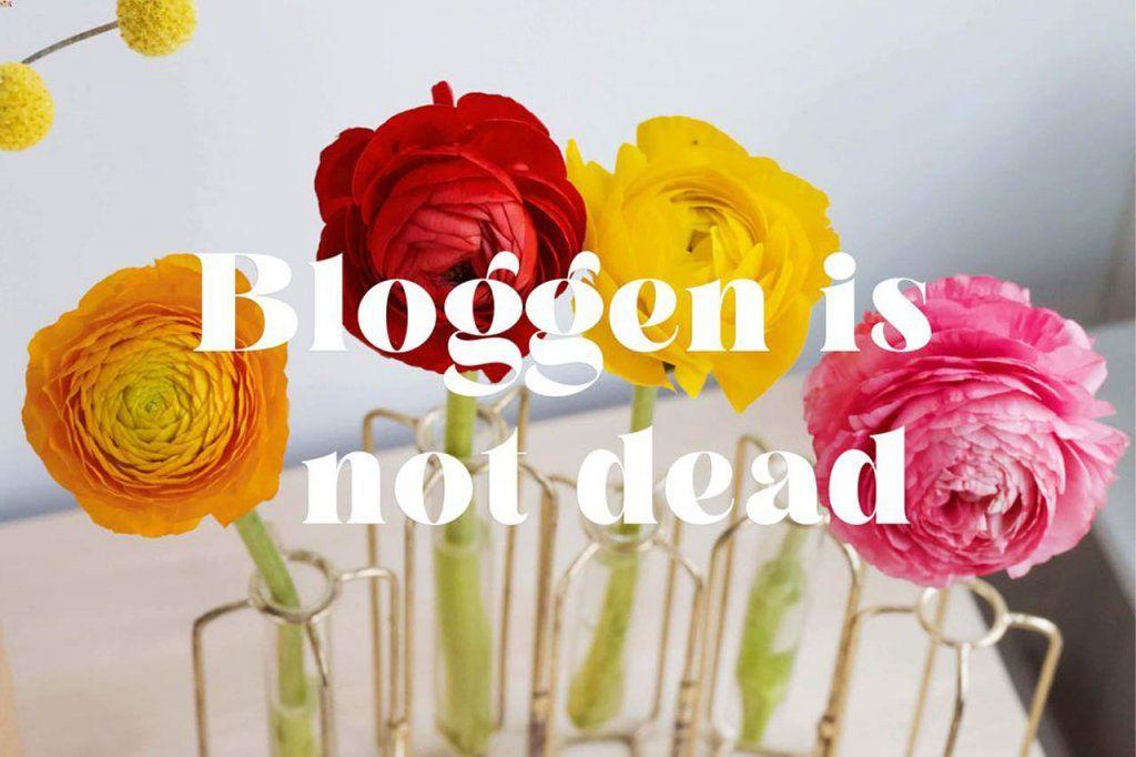 bloggen is not dead
