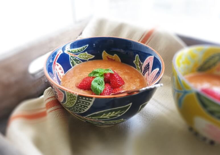 gazpacho jordgubbar