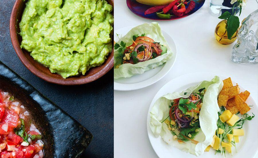 vegan raw taco