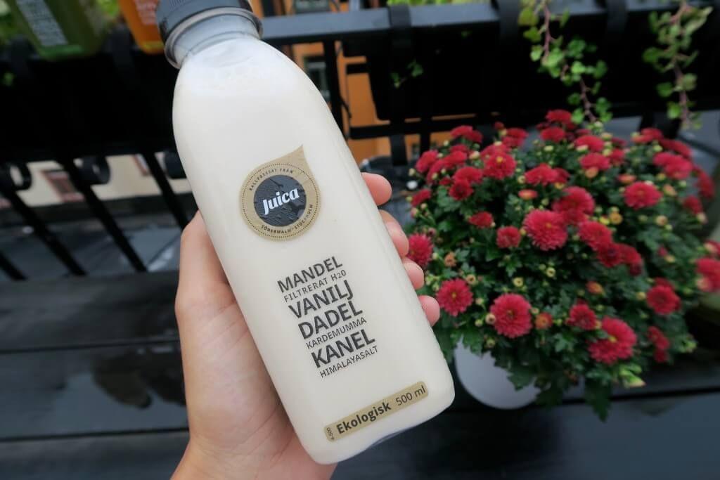 Juice kallpressade ekologiska juicer