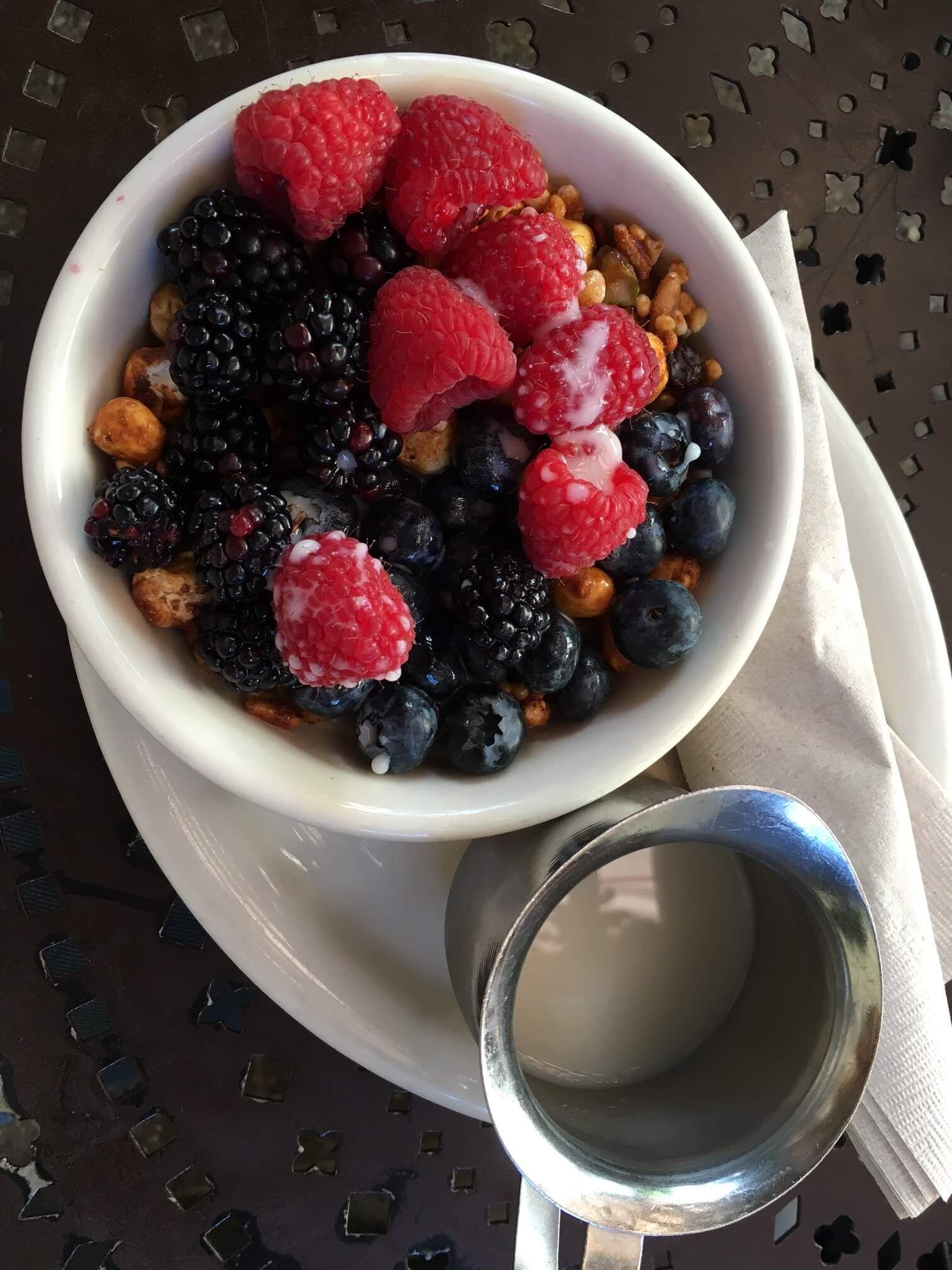 Urth Cafe frukost