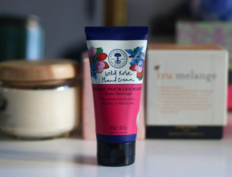 nyr wild rose hand cream