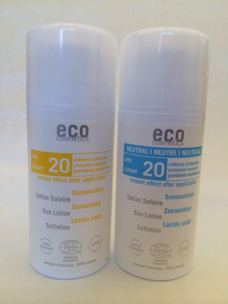 Eco Cosmetics solskydd