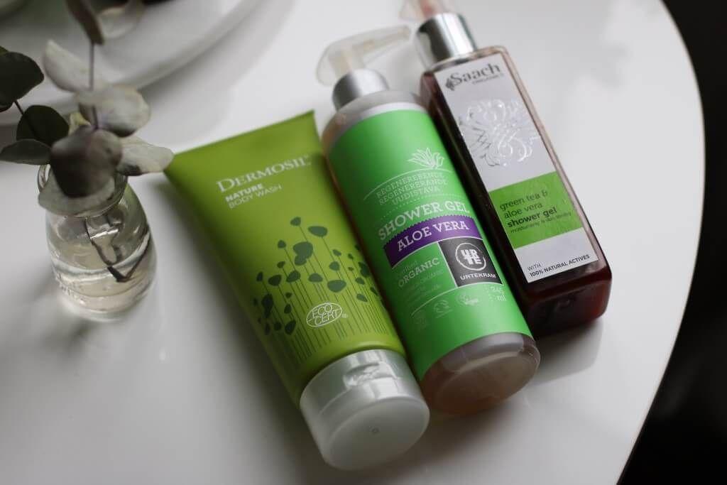 ekologisk duschkräm