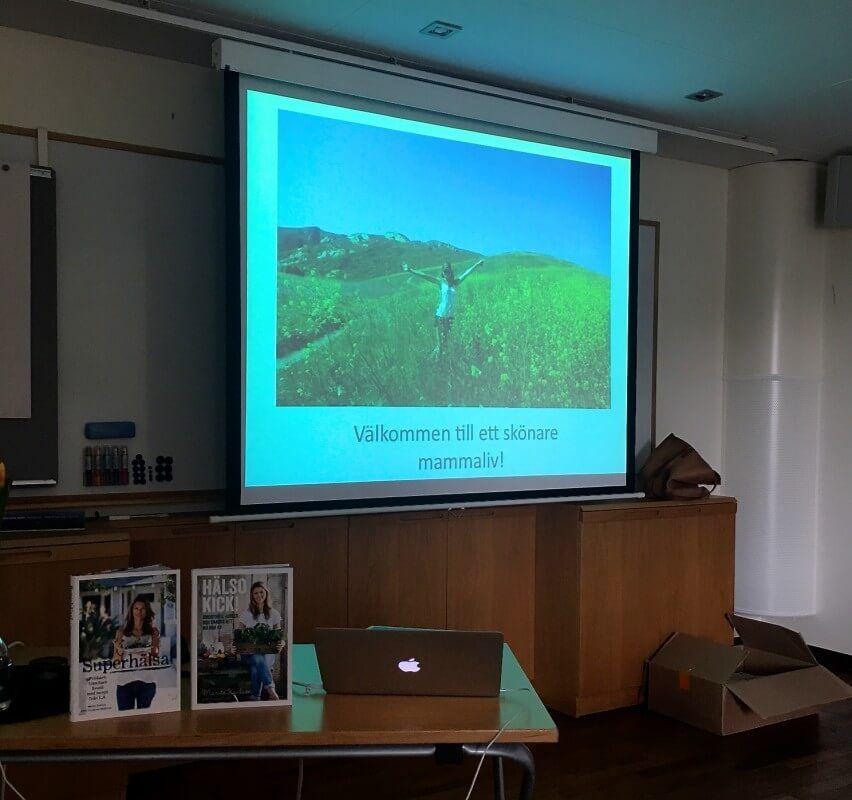 Marita Karlson föreläsning mamaboost