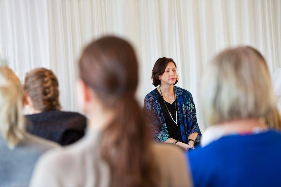 Green Beauty Day meditiation Hannah Sjöström