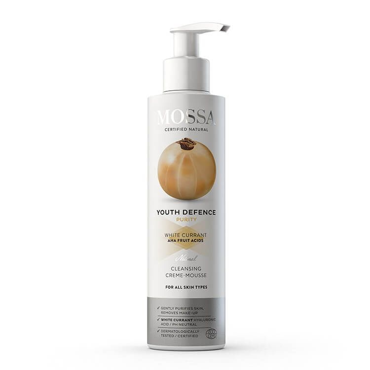 Mossa Youth Defence Cleansing Crème-Mousse, 190 ml