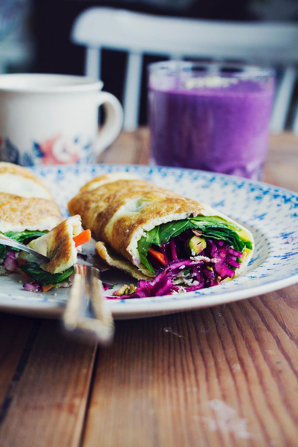 omelett_spenat_rodkal_blabarssmoothie_1