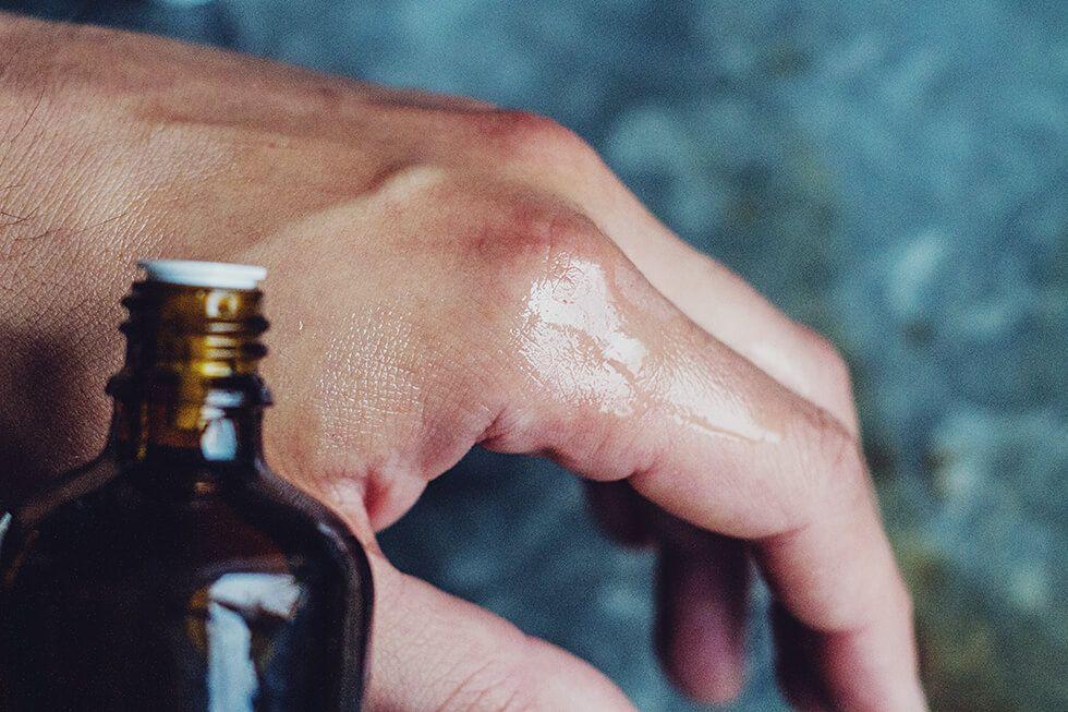 Recension Body shower lemongrass och Body oil vanilla kiss från Care of Gerd