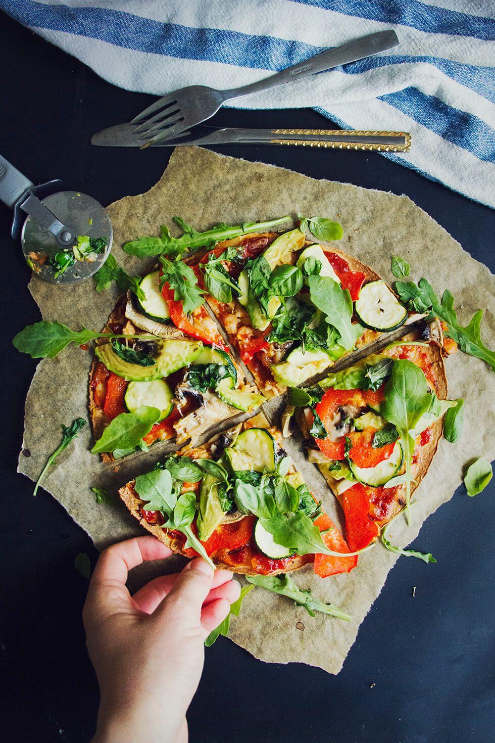 Glutenfri pizza av Bfree wrap