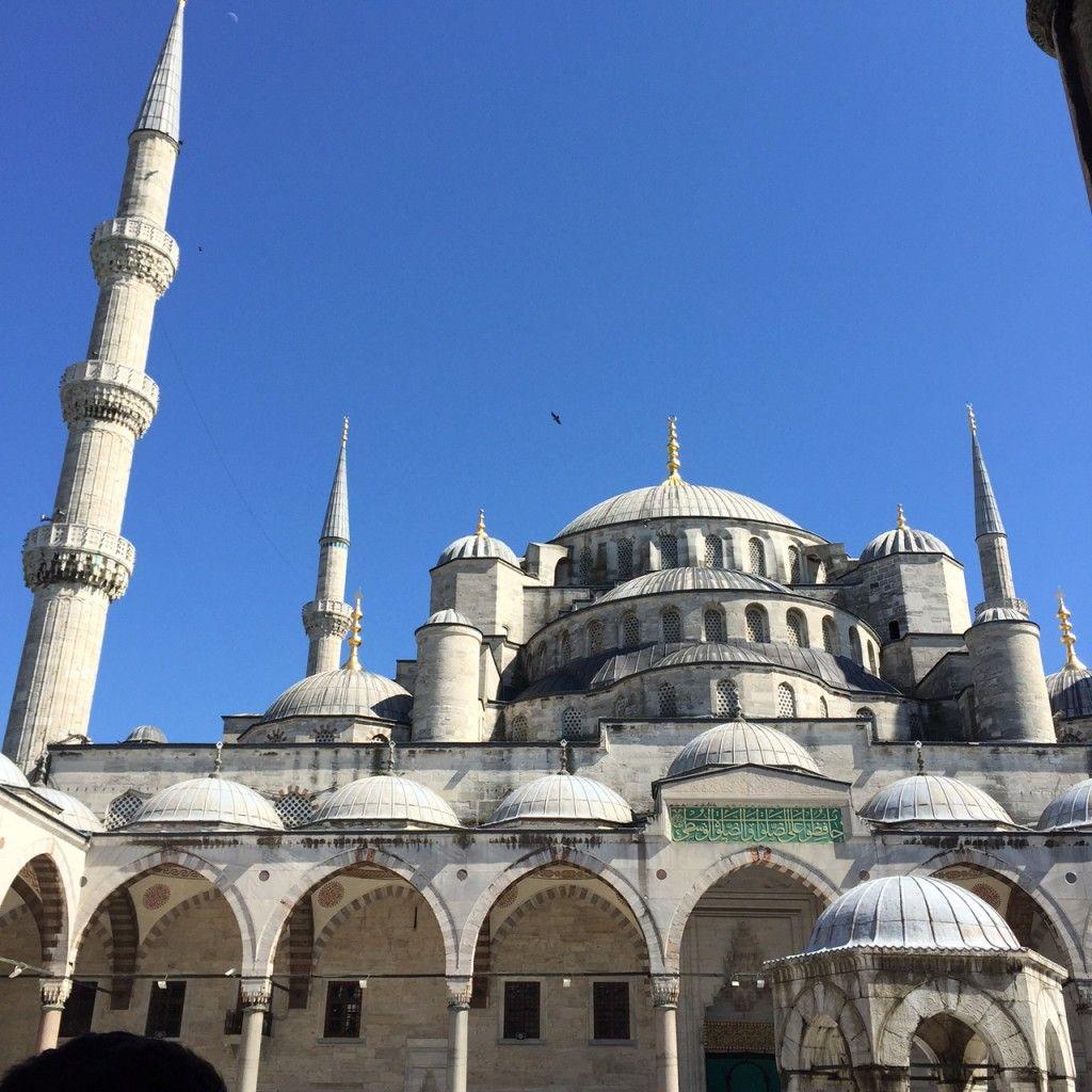 Blå Moskéen Istanbul