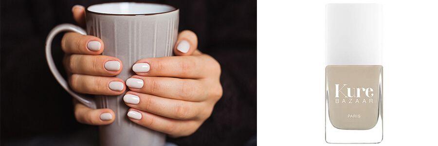 latte nougat beige nagellack